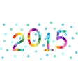 New year 2015 background banner vector