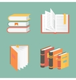 Book icons and symbols - education concepts vector