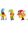 Dwarf set vector