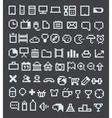 Pixel icons vector