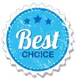 Best choice grunge stamp vector