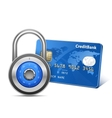Secure payment concept vector