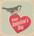 Valentines day card design concept vector