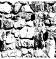 Ancient stone wall background vector