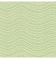 Abstract waves seamless pattern vector