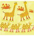 Animals pattern vector