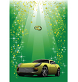 Wedding car vector