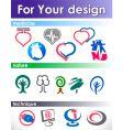 Elements for design vector