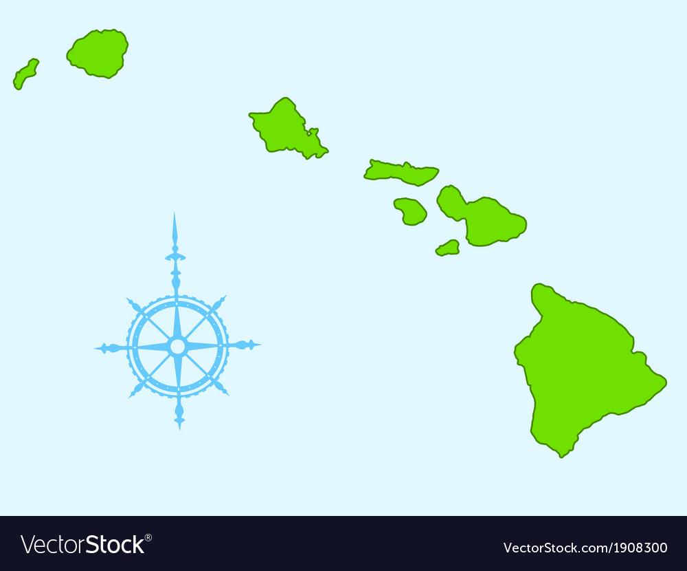 Hawaii vector | Price: 1 Credit (USD $1)