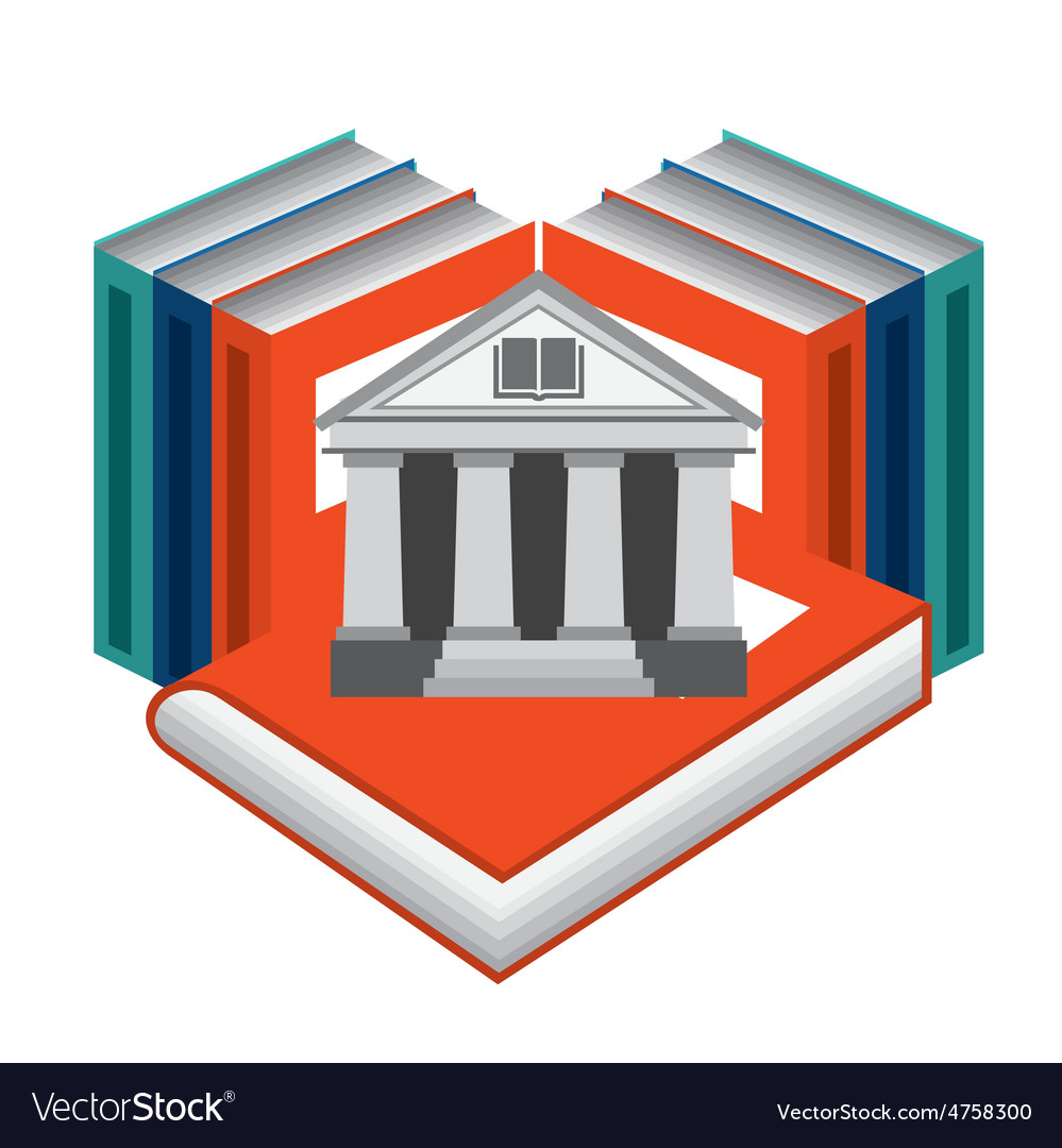 Library place vector | Price: 1 Credit (USD $1)