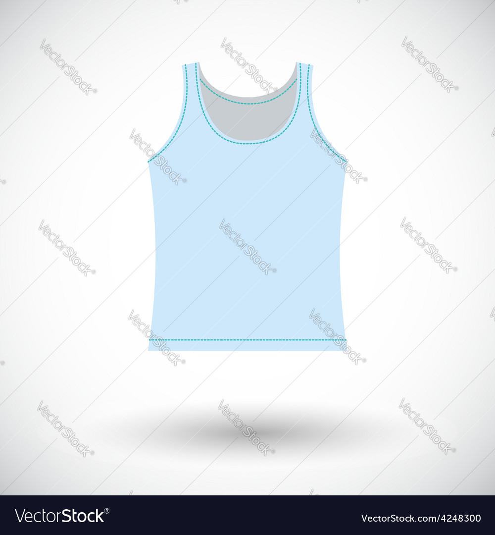 Singlet single icon vector | Price: 1 Credit (USD $1)
