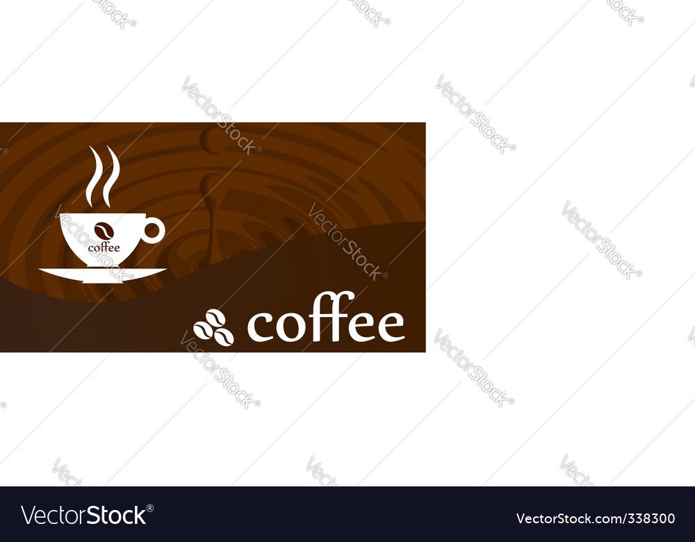 Splash coffee vector | Price: 1 Credit (USD $1)