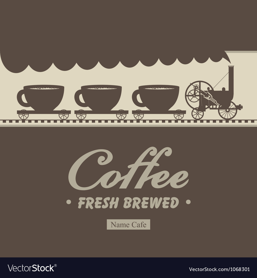 Coffee steam vector | Price: 1 Credit (USD $1)