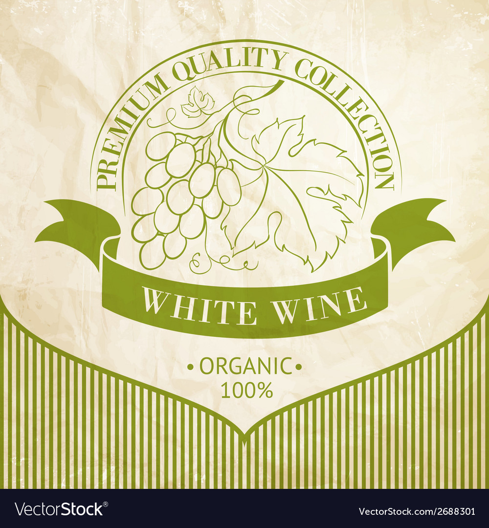Design of label for wine vector | Price: 1 Credit (USD $1)