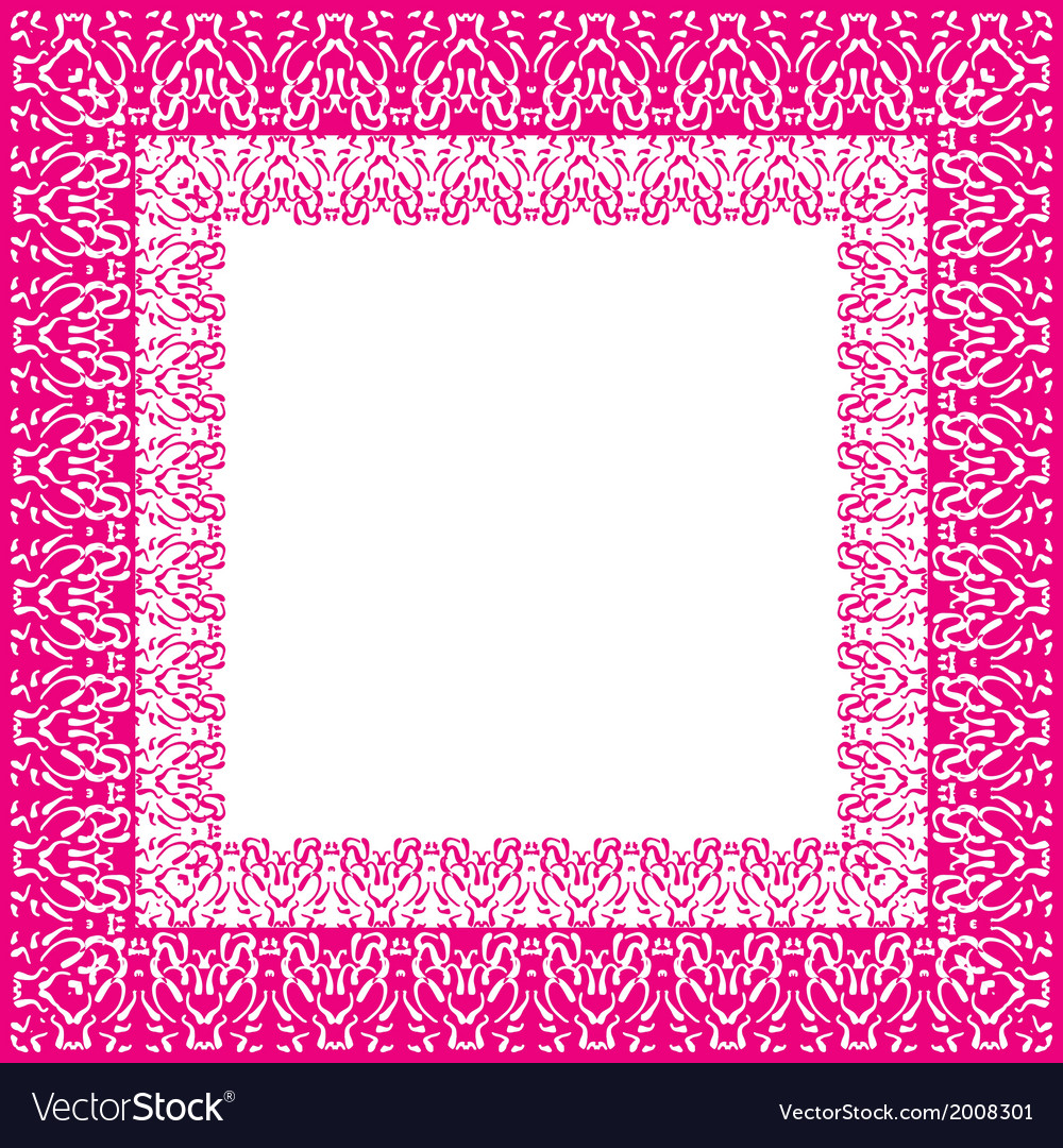 Tablecloth border pattern vector | Price: 1 Credit (USD $1)