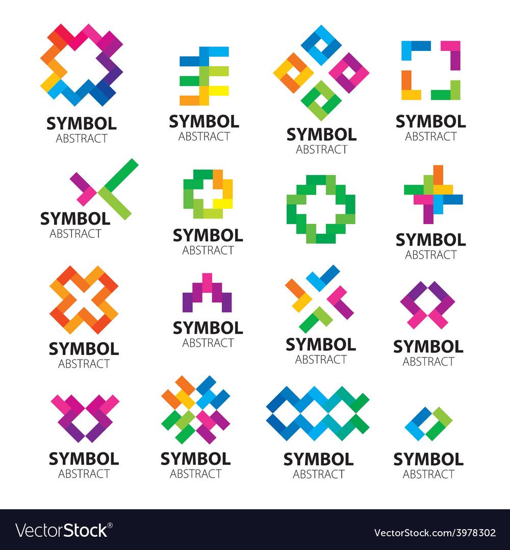 Big set logos modules vector | Price: 1 Credit (USD $1)