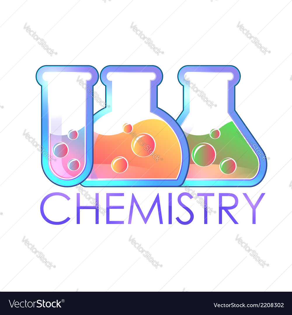 Chemical test tube icon vector | Price: 1 Credit (USD $1)