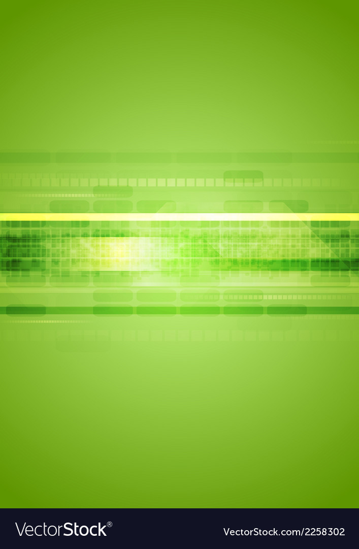 Hi-tech green abstract background vector | Price: 1 Credit (USD $1)