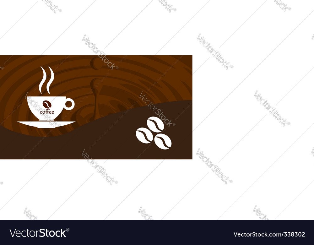 Splash coffee vector | Price: 1 Credit (USD $1)