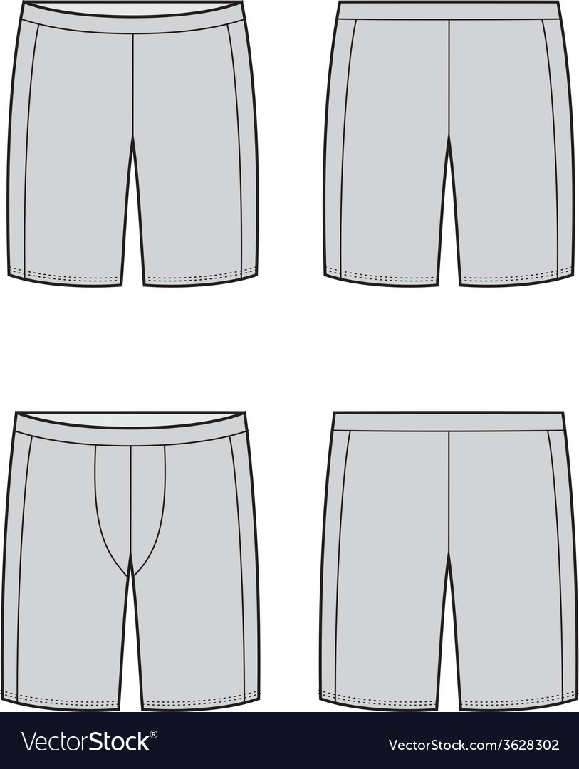 Sport shorts vector | Price: 1 Credit (USD $1)
