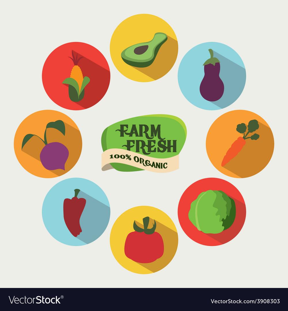 Farm fresh vector   Price: 1 Credit (USD $1)