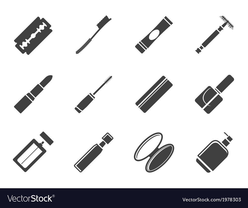 Health and beauty icons vector   Price: 1 Credit (USD $1)