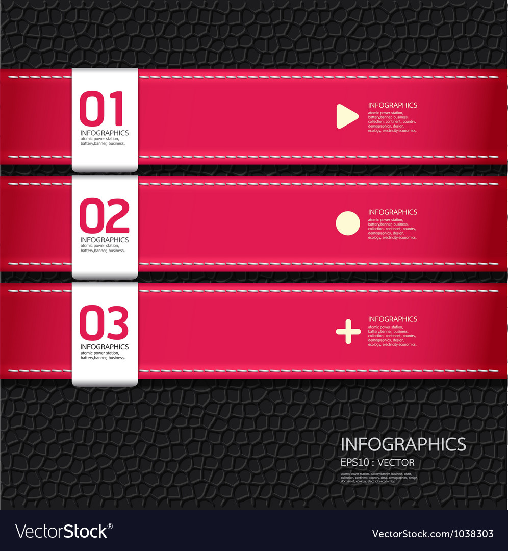 Leather pink color design template vector | Price: 1 Credit (USD $1)