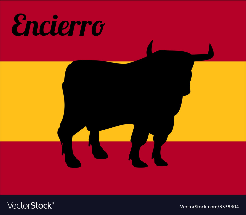 Bull run vector | Price: 1 Credit (USD $1)