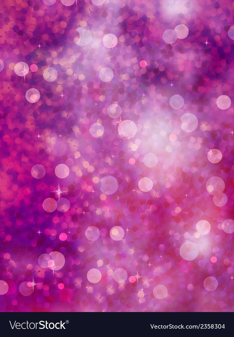 Defocused purple lights glitter eps 10 vector | Price: 1 Credit (USD $1)