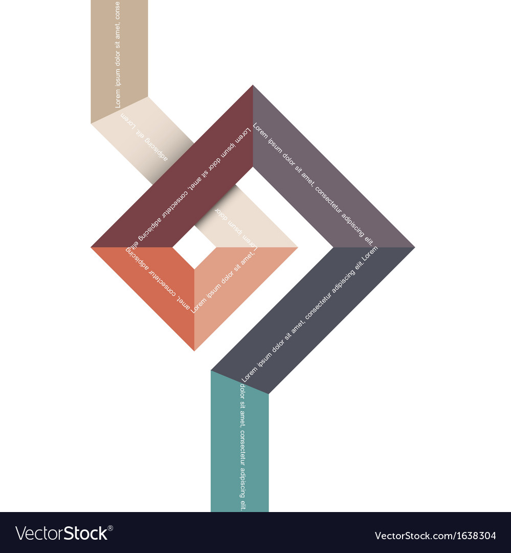 Geometric abstract shape for design vector | Price: 1 Credit (USD $1)