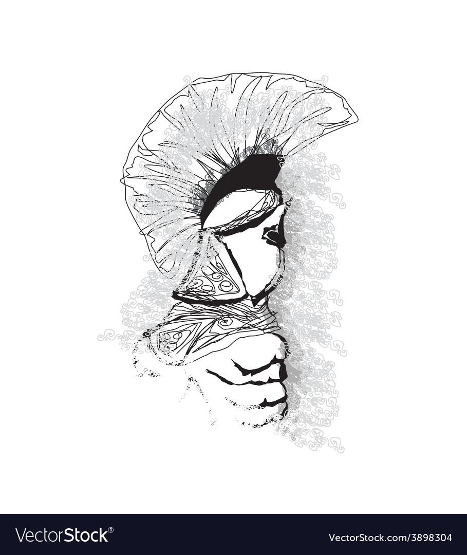 Spartan cartoon vector   Price: 1 Credit (USD $1)