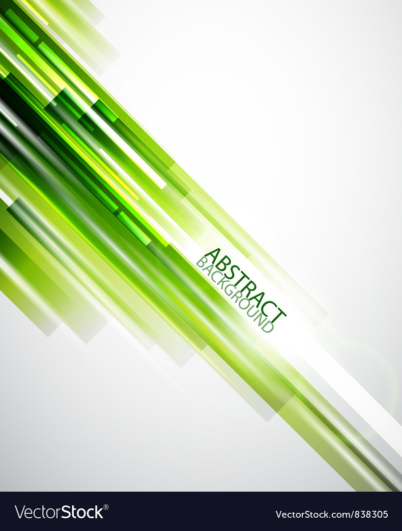 Abstract green lines background vector | Price: 1 Credit (USD $1)