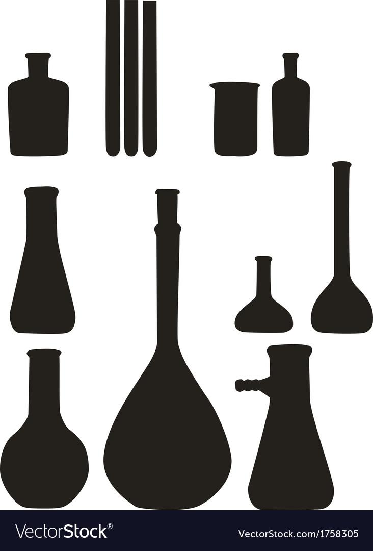 Flask tool set 01 vector | Price: 1 Credit (USD $1)