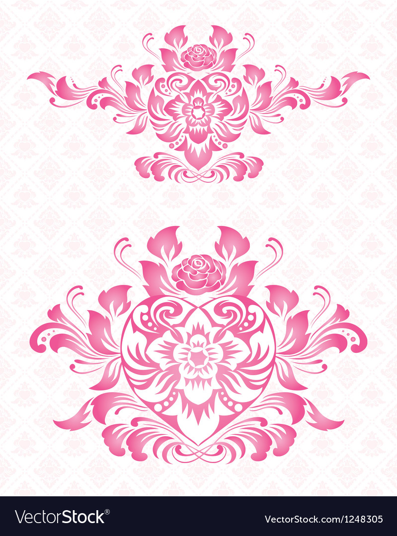 Ornament for valentine vector | Price: 1 Credit (USD $1)