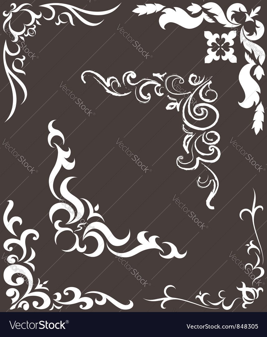 Pattern for the frame vector | Price: 1 Credit (USD $1)