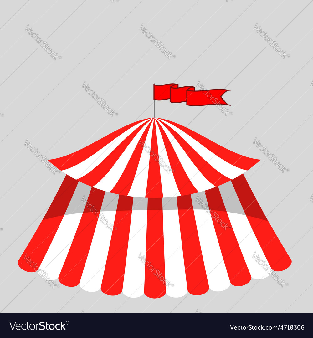 Circus tent icon vector | Price: 1 Credit (USD $1)