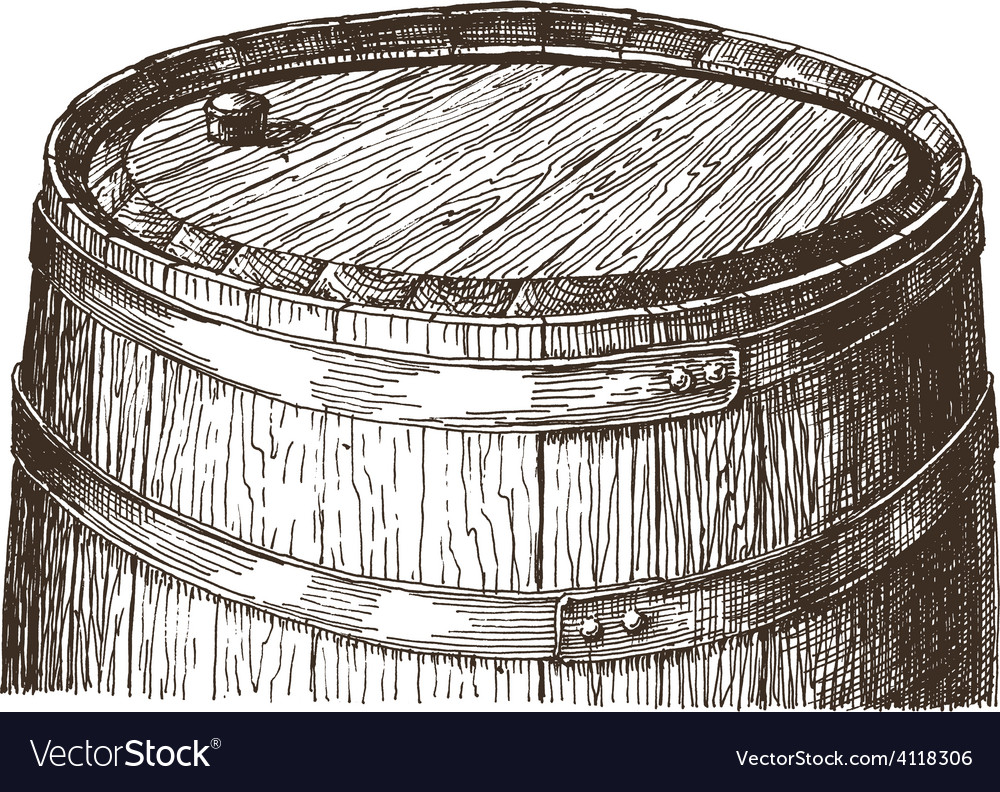 Oak barrel logo design template wine or vector | Price: 3 Credit (USD $3)