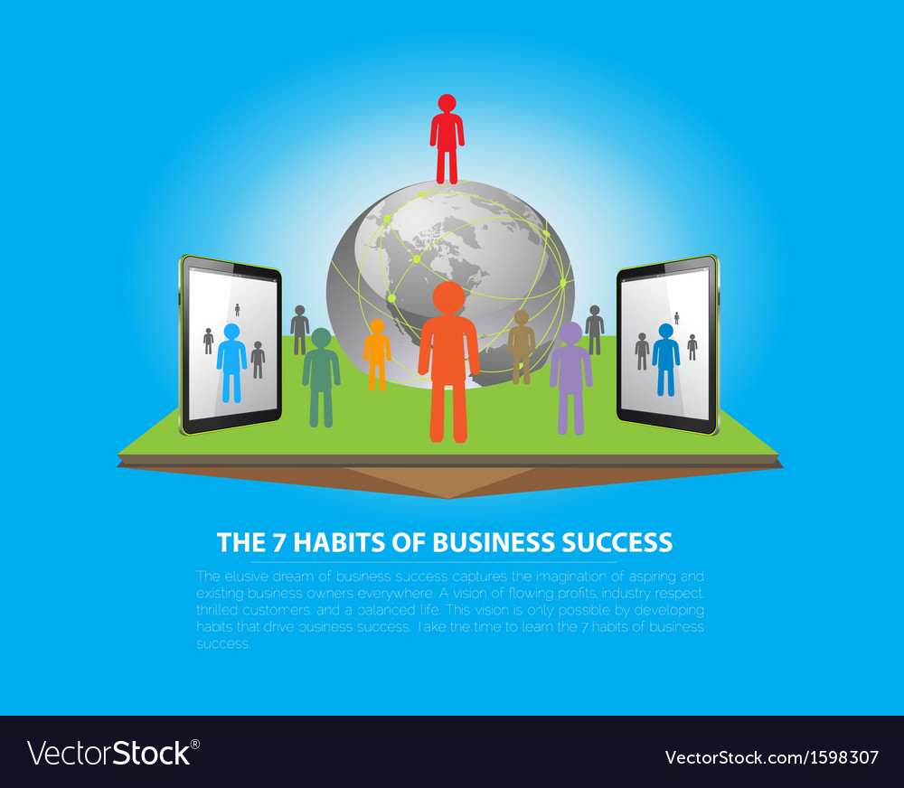 Business success vector | Price: 1 Credit (USD $1)