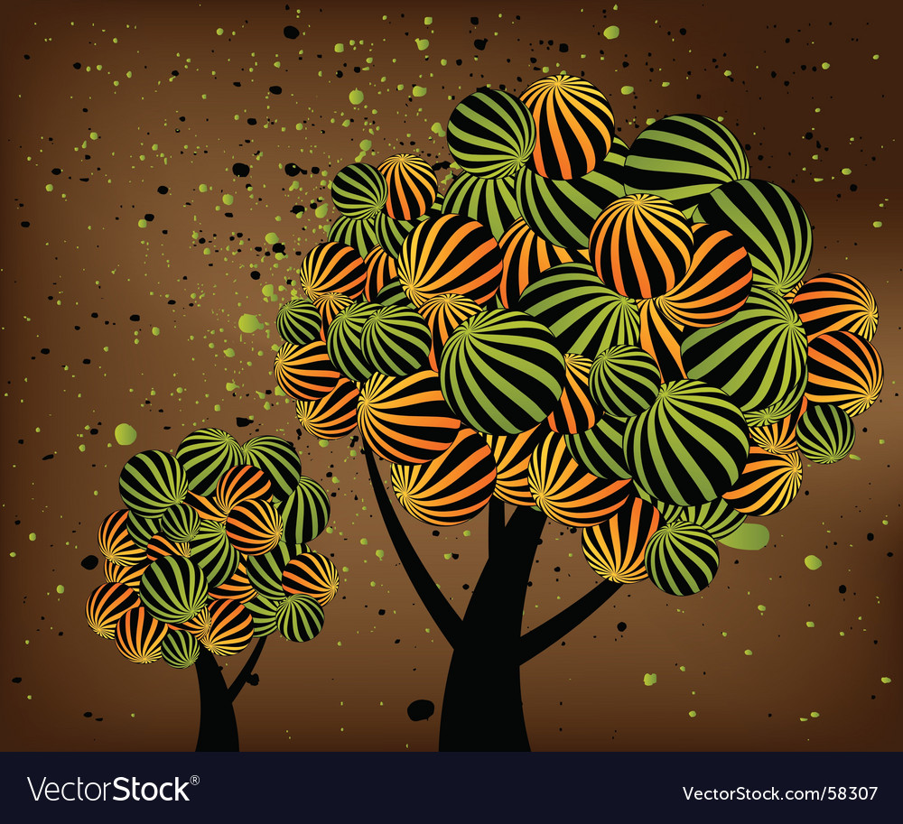 Trees vector | Price: 1 Credit (USD $1)