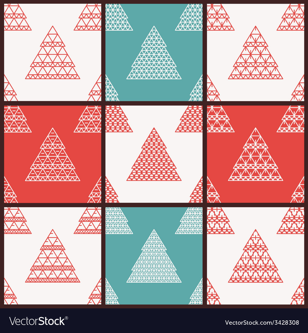 Christmas seamless patterns vector   Price: 1 Credit (USD $1)