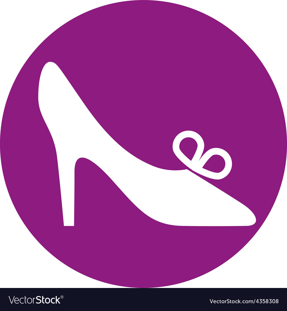 Footwear icon shoe pictogram vector | Price: 1 Credit (USD $1)