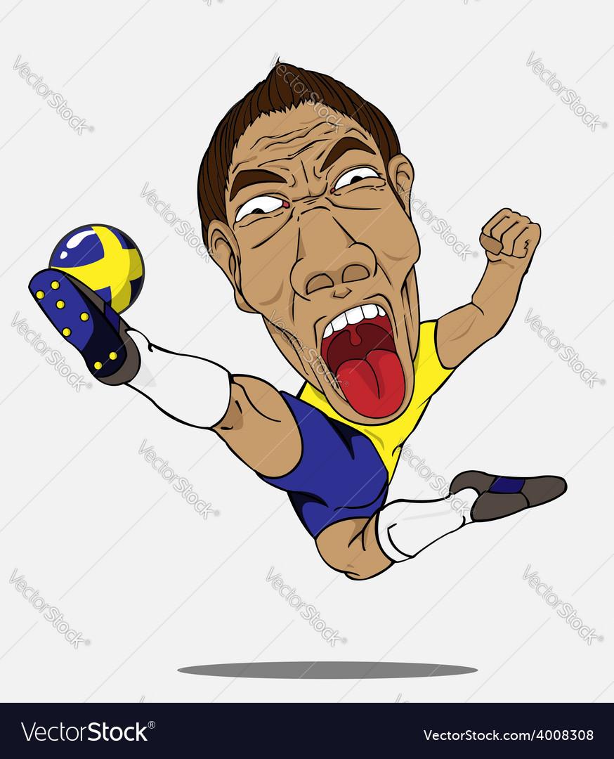 Soccer player sweden vector   Price: 1 Credit (USD $1)