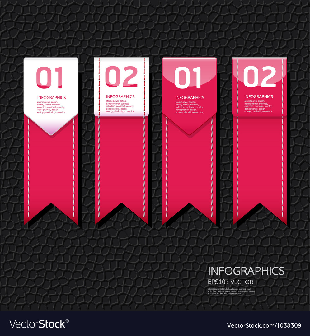 Leather pink color design template vector   Price: 1 Credit (USD $1)
