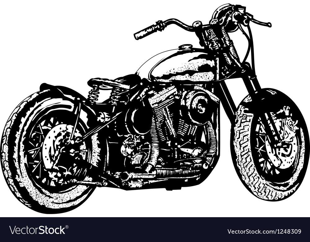 Motorcycle 3 vector | Price: 1 Credit (USD $1)