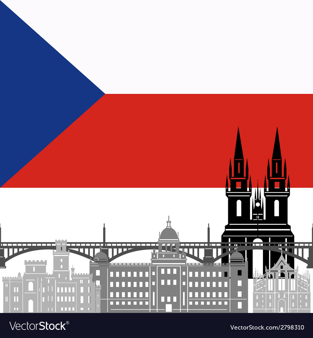 Czech republic vector | Price: 1 Credit (USD $1)