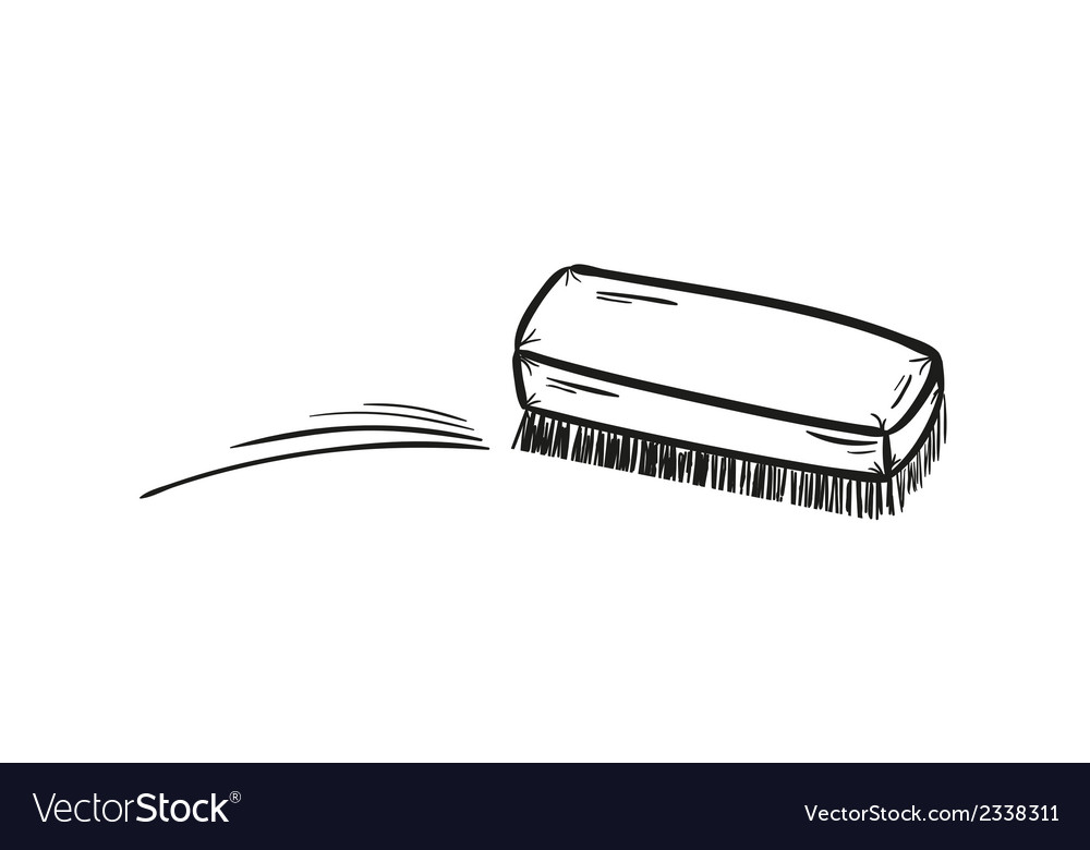 Brush and cleaning up vector   Price: 1 Credit (USD $1)