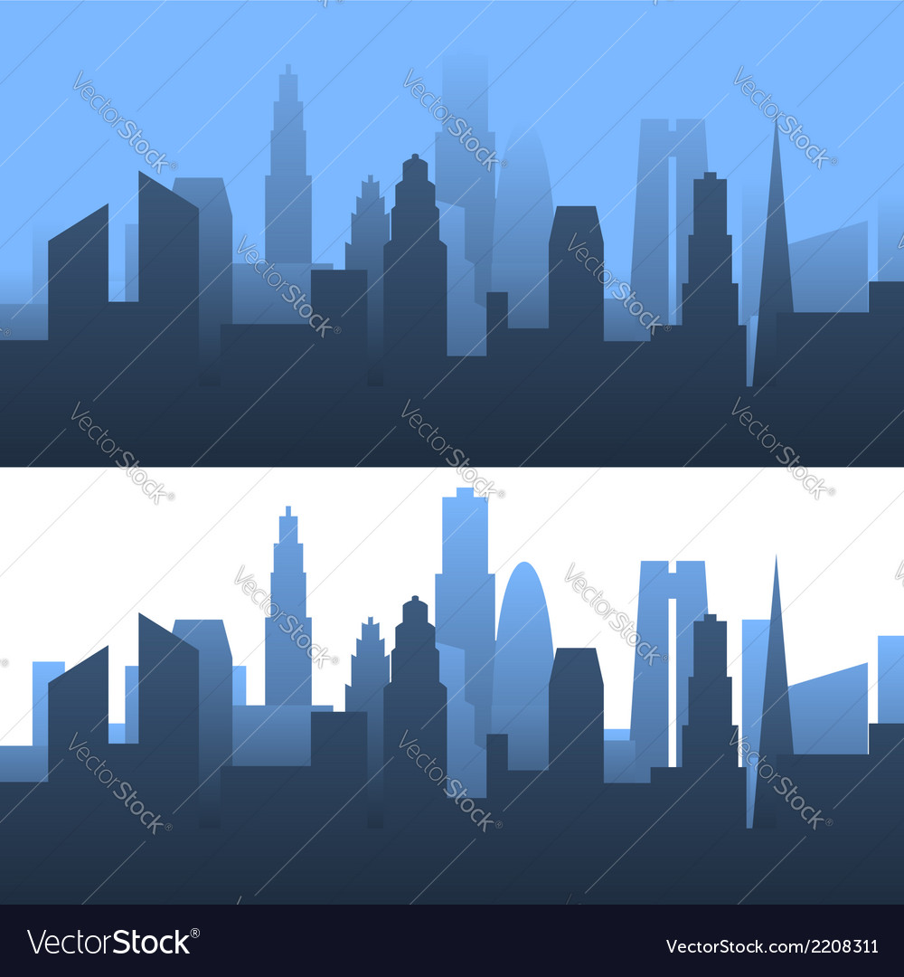 Generic cityscape vector | Price: 1 Credit (USD $1)