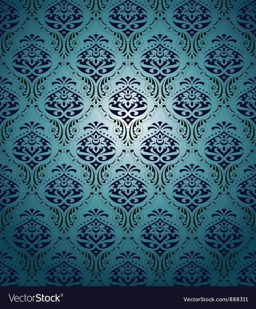 Vintage floral pattern vector   Price: 1 Credit (USD $1)