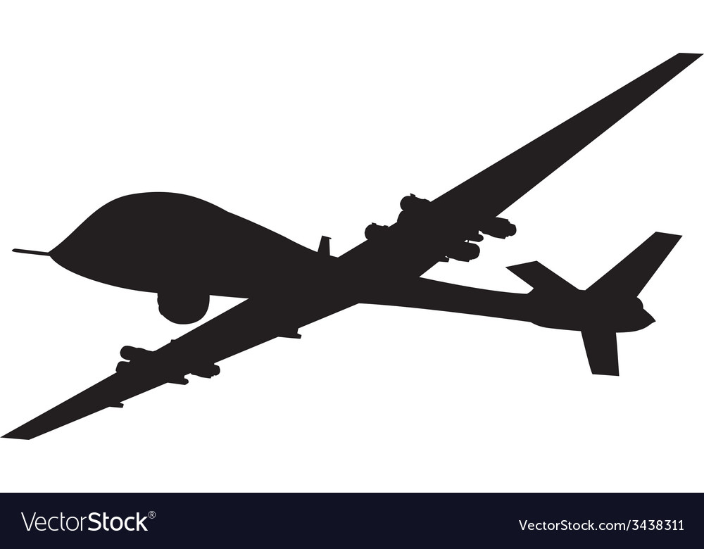 Weapon drones vector | Price: 1 Credit (USD $1)