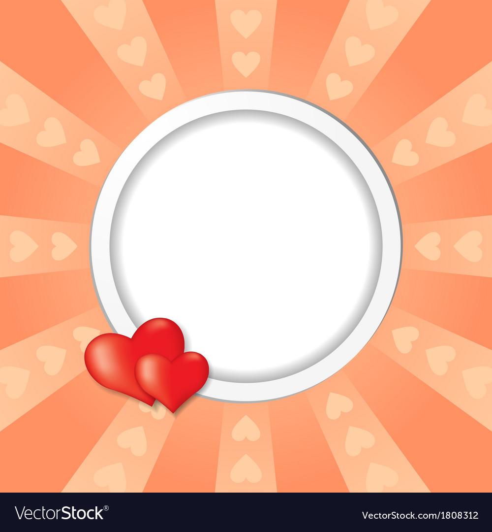 Heart beam vector | Price: 1 Credit (USD $1)